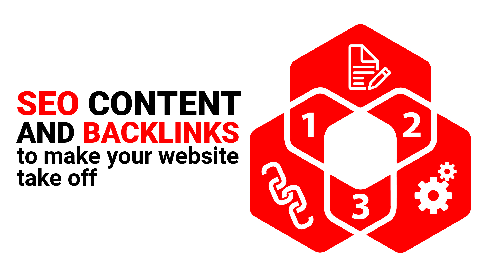 SEO Content and backlinks to make your website take off