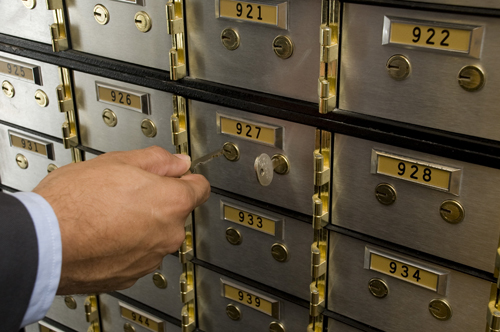 Anonymous Safe-deposit Boxes