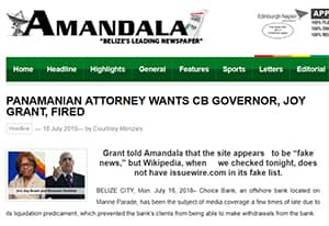 Panamanian attorney wants cb Governor, Joy Grant, fired