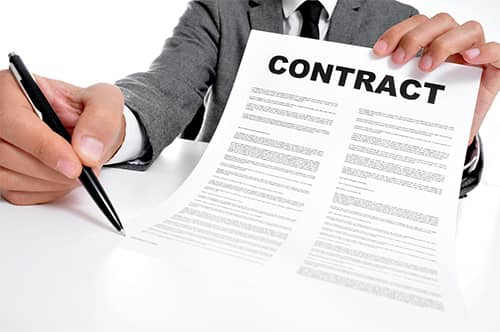 Why do we seek a lawyer to write a contract?