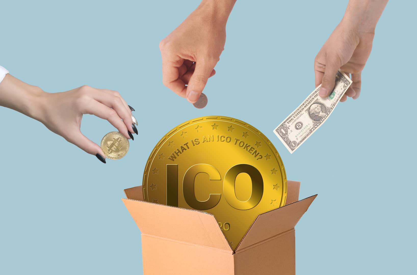 How is an ICO, STO, IPO, or DAO made?