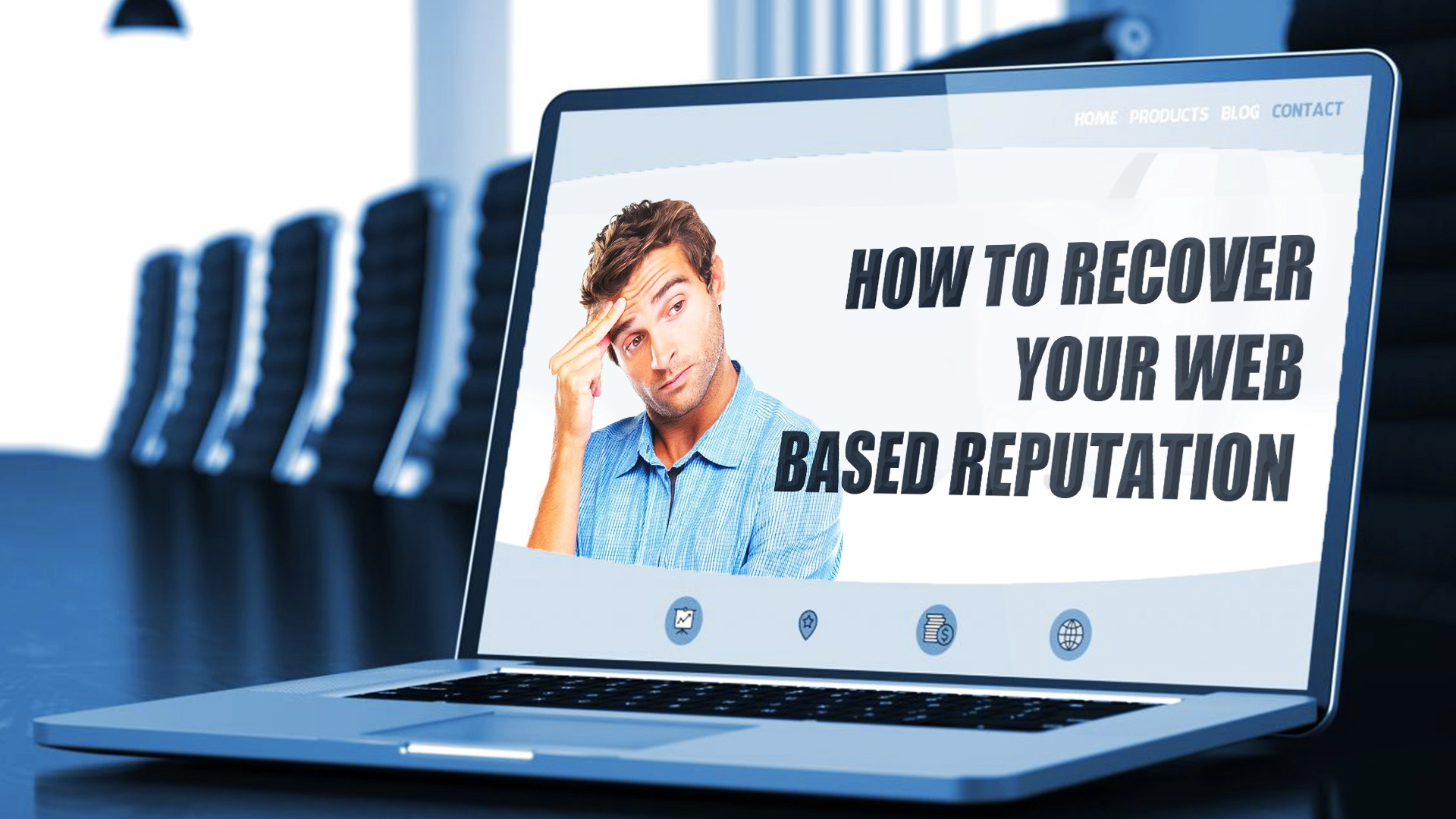 How to recover your online reputation or how to create one