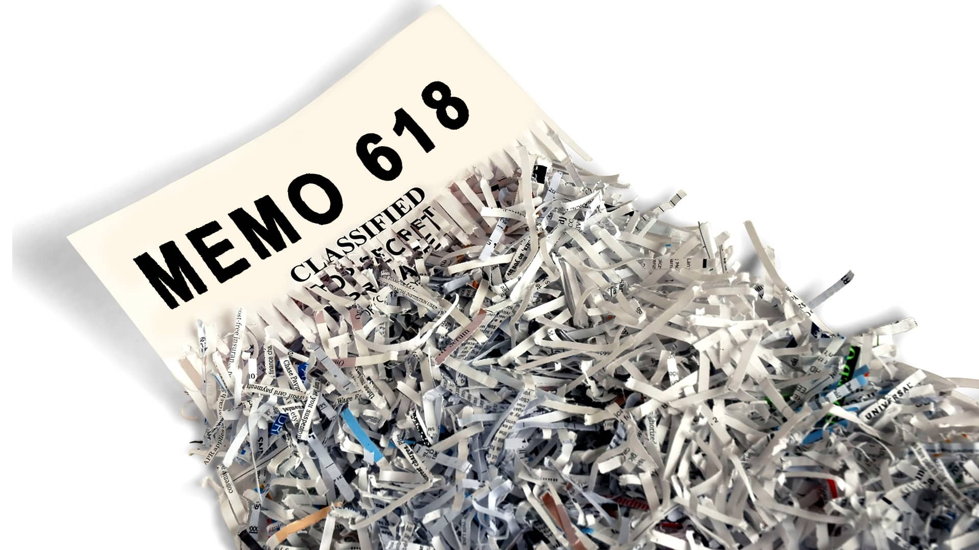 What is Memo 618? The secret of Memo 618 revealed